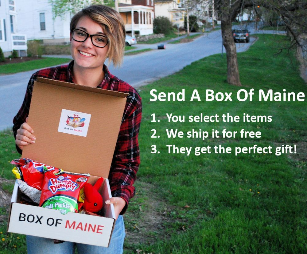 Build a box of maine maine gifts maine life