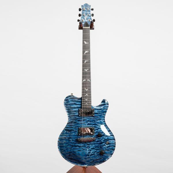 Best Nik Huber Dolphin Ii Electric Guitar Atlantic Blue High 400 x 300