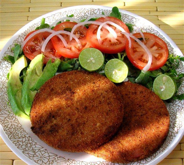 Comida r pida casera mortadela empanizada con ensalada - Que hago de comer rapido y sencillo ...
