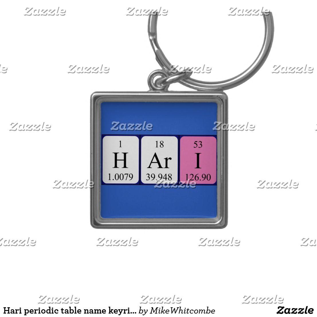 Hari periodic table name keyring periodic table hari periodic table name keyring urtaz Gallery