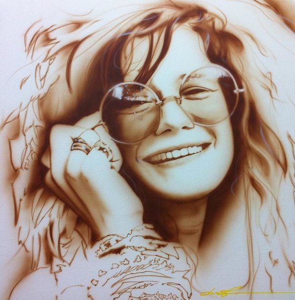 fcb0327c06c Janis Joplin Poster featuring the painting  janis  by Christian Chapman Art