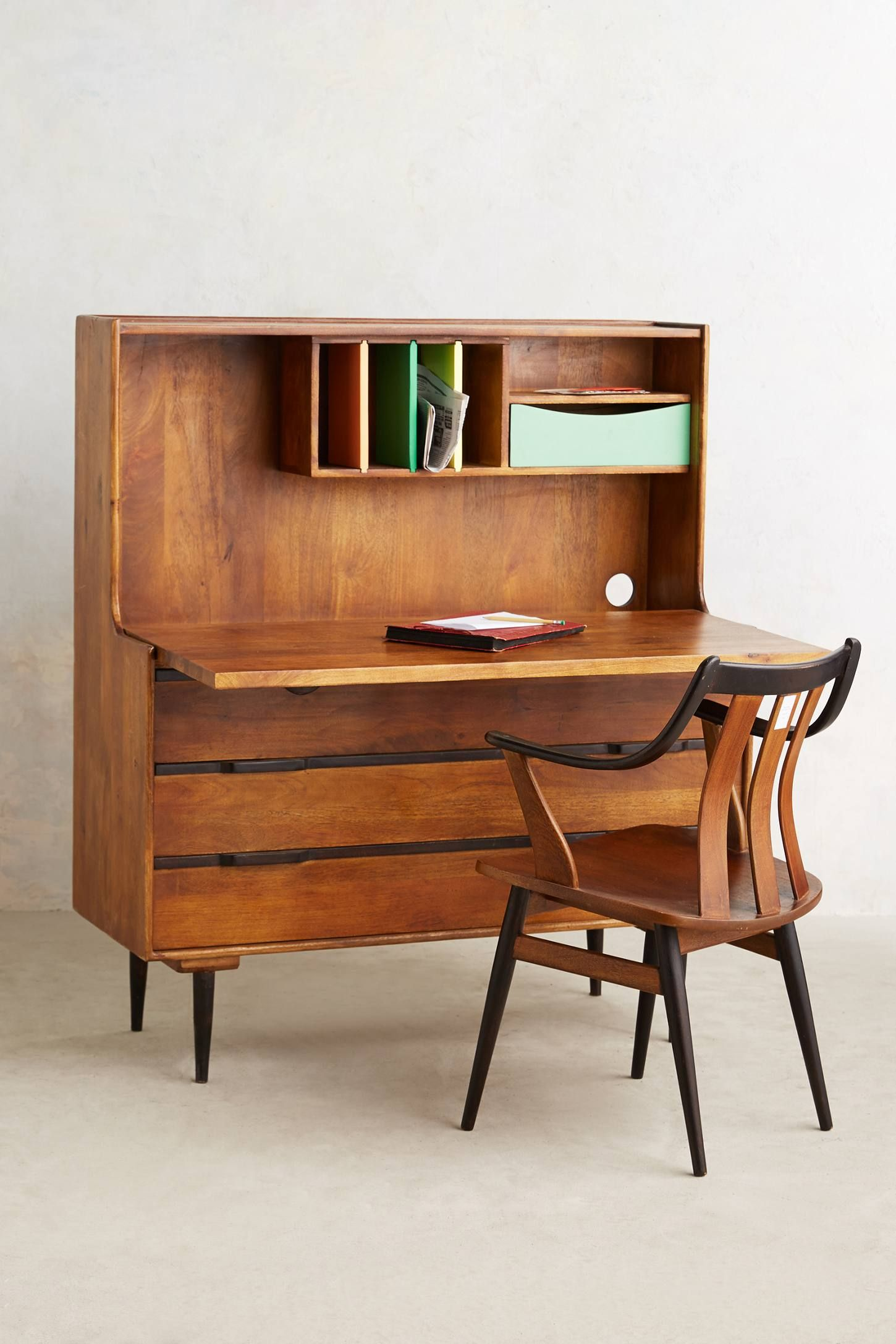 Retro writing desk