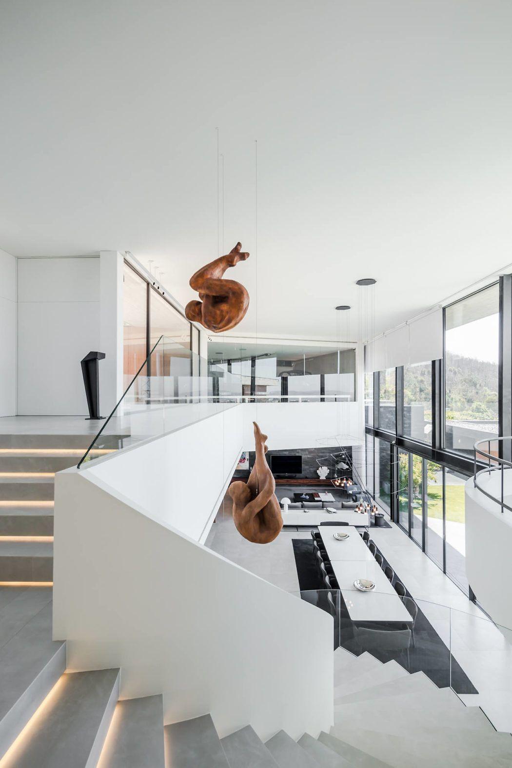 Fraiao house by trama arquitetos also interior pinterest rh