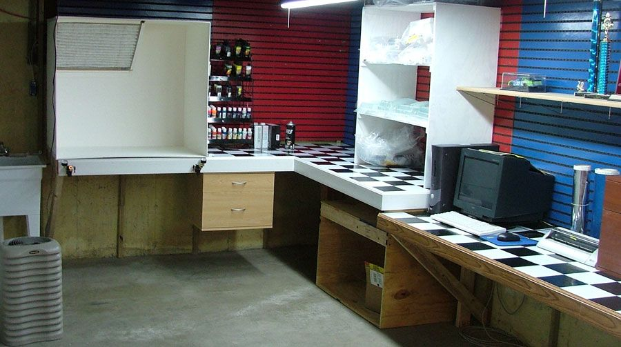 Airbrush Work Station I Must Build One Of These