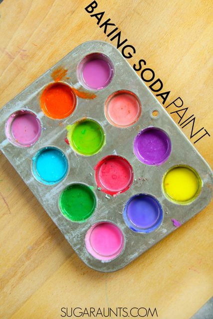 Baking Soda Paints - The OT Toolbox Make your own