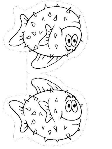 Dibujos para colorear de animales marinos, dibujos coloreados y ...