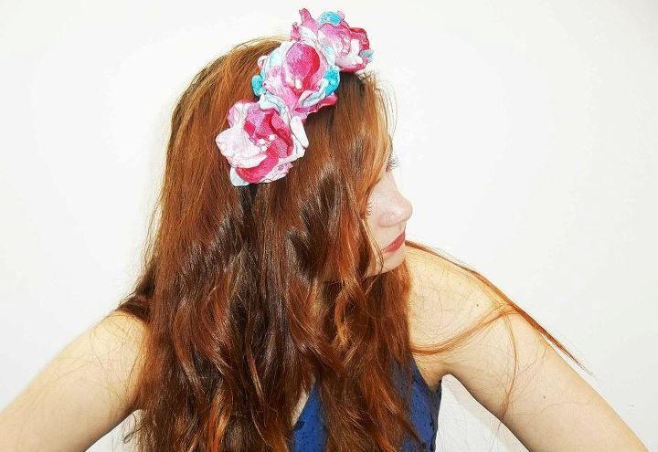diadema floral marie tocados y sombreros