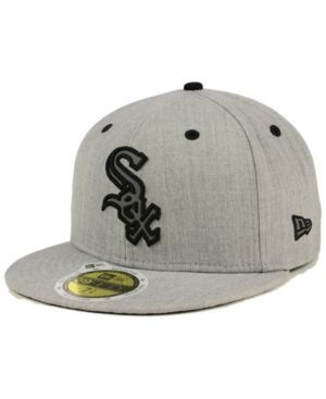 36045bf75e6 New Era Chicago White Sox Total Reflective 59FIFTY Fitted Cap - Gray 7 5 8