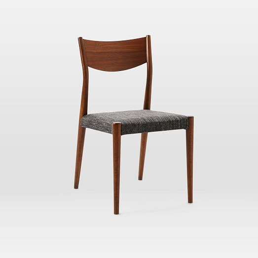 Tate Upholstered Dining Chair Sets West Elm Ideas