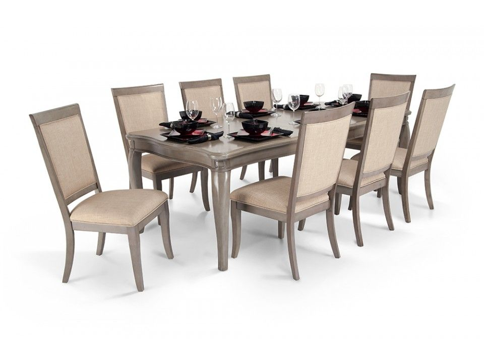 Gatsby 9 Piece Dining Set With Side Chairs | Dining room sets, Room ...