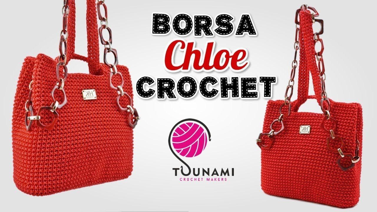 "Photo of TUTORIAL BORSA UNCINETTO – ""Chloe"" EASY CROCHET BAG"