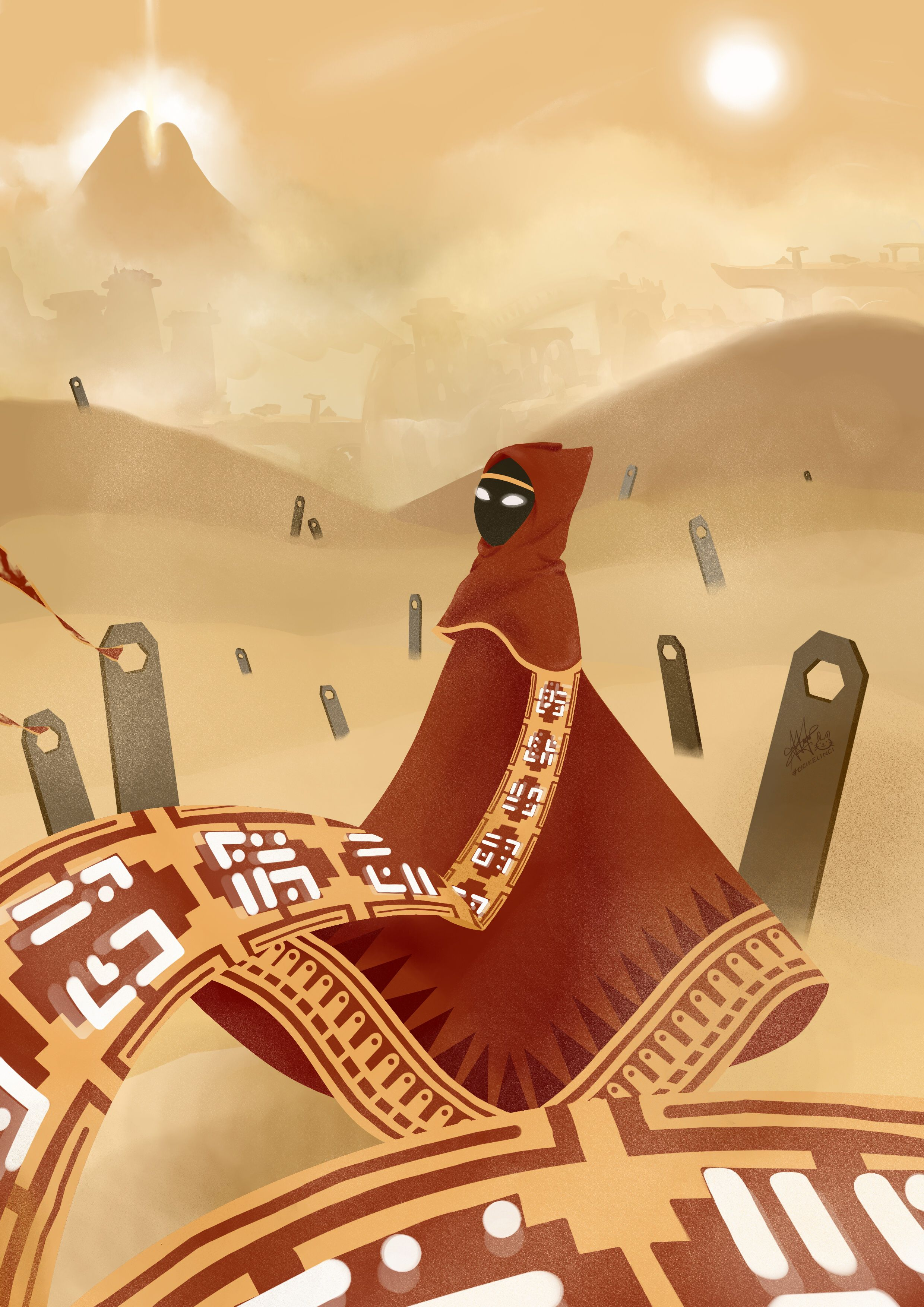 Journey I Was Born For This Journey Game Fan Art By