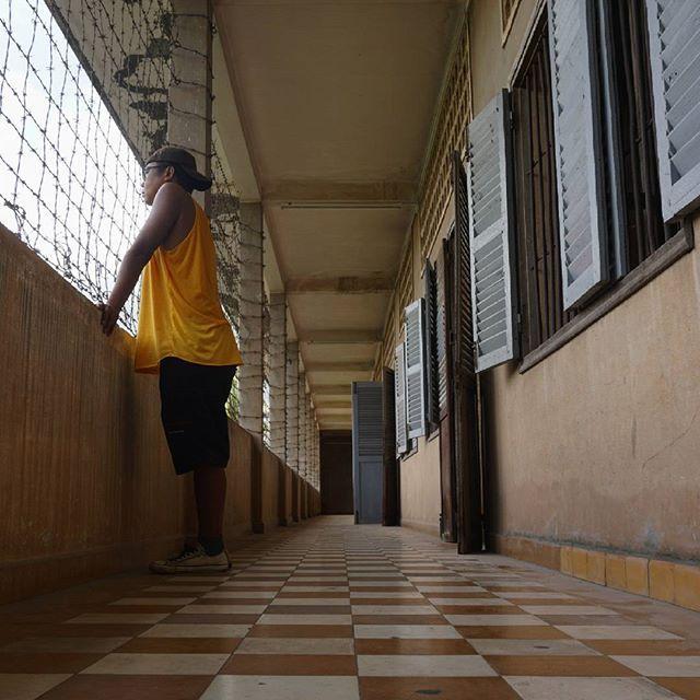 """Cage // #ExploringMyNeighbors #ASEANchannel #ASEAN #ASEANtourism #ExploringASEAN #Indonesian #explorer #travel #traveling #traveler #tourism #SouthEastAsia #SouthEastAsiaTrip #ExploringSouthEastAsia #wanderlust #backpacker #A6000 #SonyA6000 #Cambodia #CambodiaTourism #Khmer #Cambodian #PhnomPenh #TuolSleng #museum #genocide #humanity #KhmerRouge #civilwar #history by bukrie"