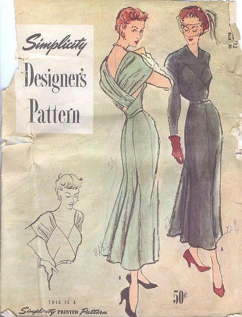 Simplicity 8036 | Vestidos vintage, Estilo vintage y Señor