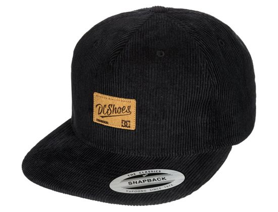 Wes Cord Black Snapback Cap by DC  a42939ecb4a6
