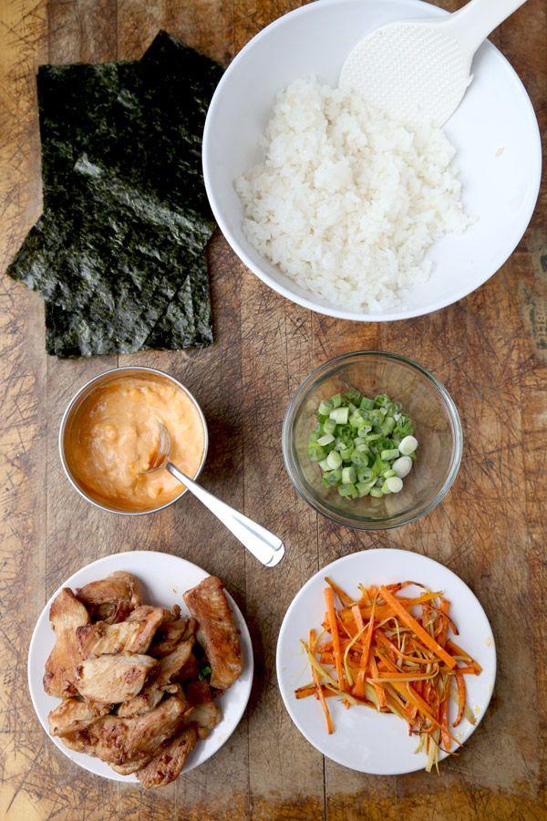 Chicken & Spicy Mayo