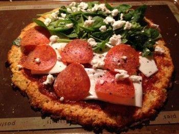 Paleo Cauliflower Pizza Crust