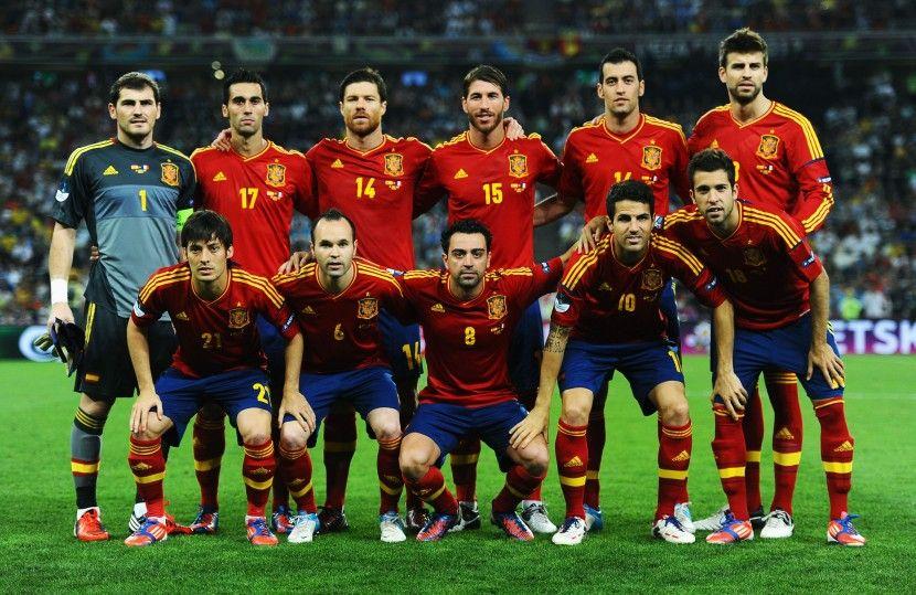 Spain Football Team 2012 . Bola