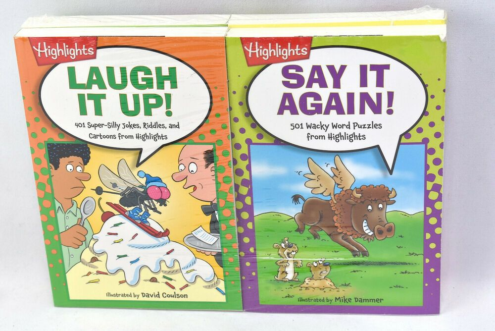 Highlights Kids Jokes and Riddles 4 Book Set New Ages 612