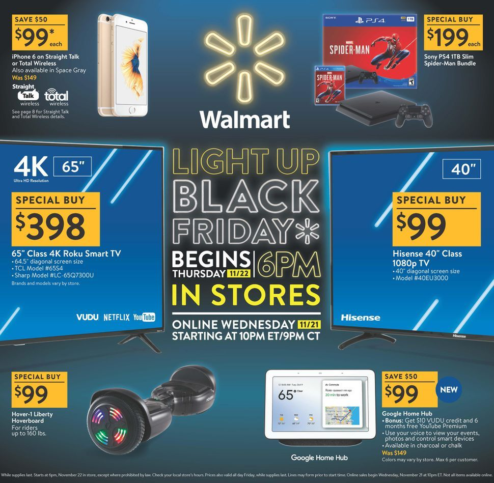 Black Friday 2018 Sales Starting Earlier Than Ever At Best Buy And Walmart Walmart Black Friday Ad Black Friday Ads Walmart Black Friday Deals