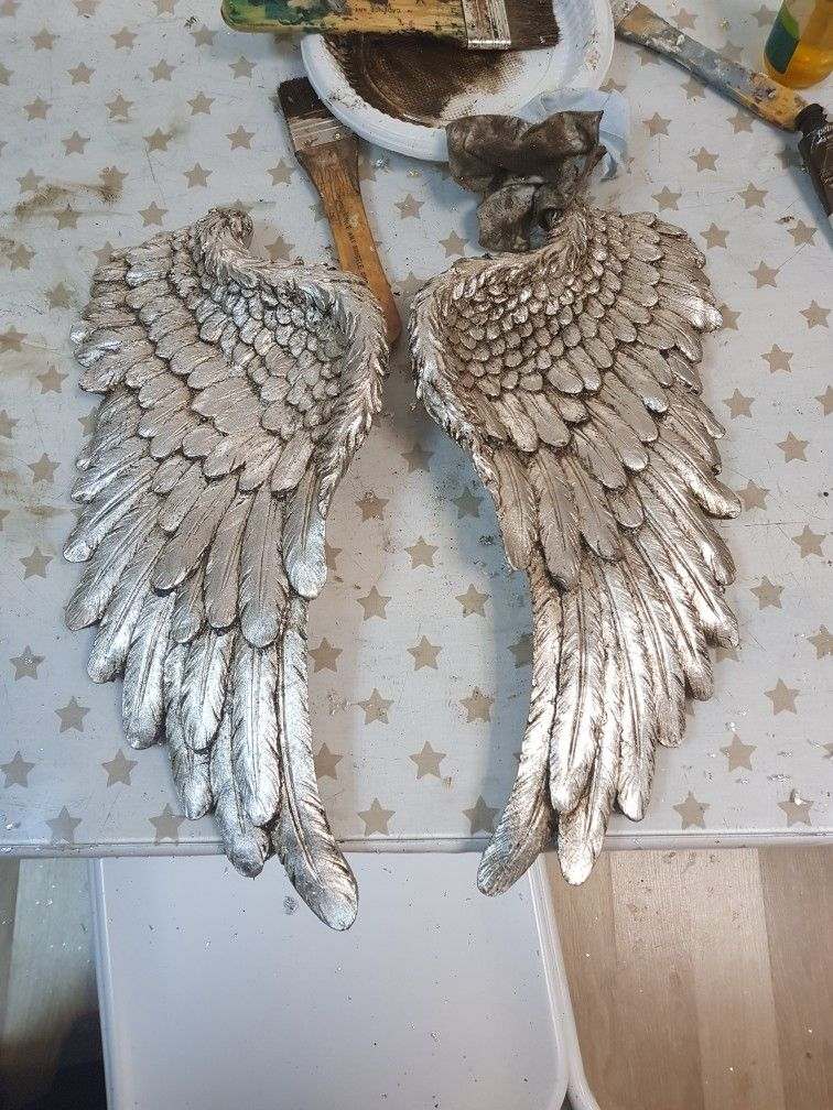 Pin by Sandy on Ideas Angels, wings, statues Diy angel