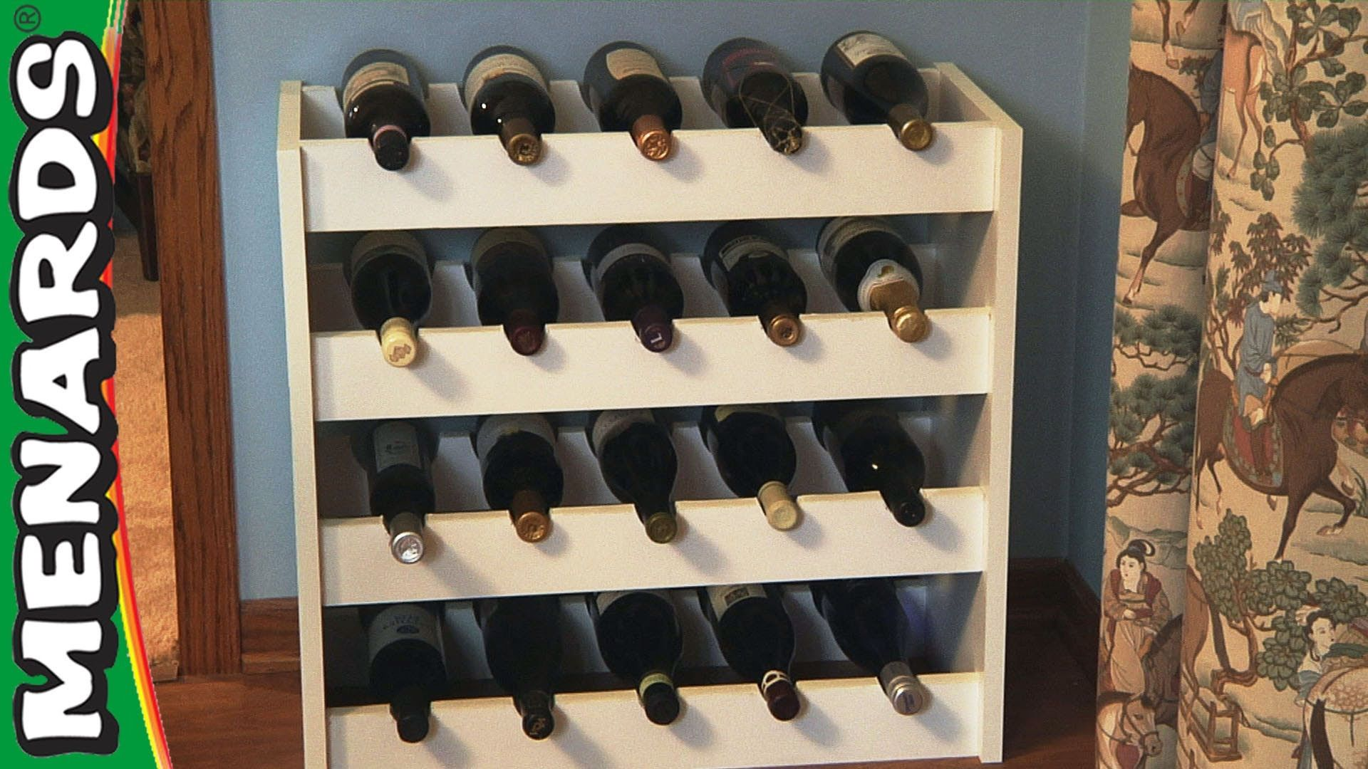 Wine Rack How To Build Menards Wood Wine Rack Diy Wine Rack Built In Wine Rack