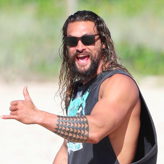 These Photos Of Jason Momoa As Aquaman Prove That He's The