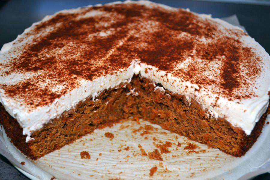 Na tortu potrebujete: 150 g špaldovej múky 2 kávové lyžičky prášku do pečiva 1/2…