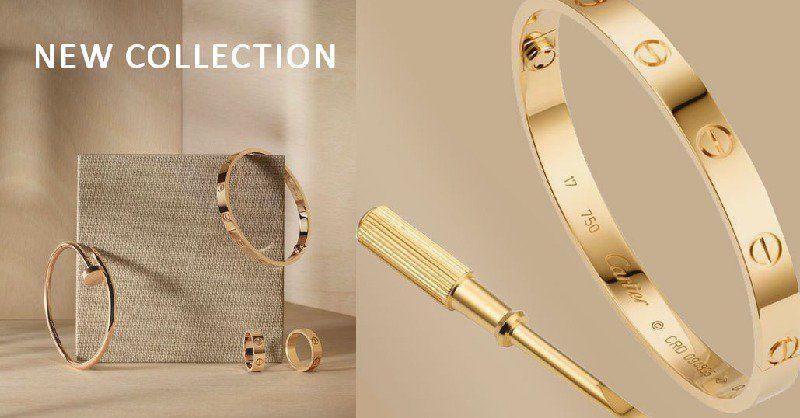Pin By Jewel On اساور Love Bracelets Cartier Love Bracelet Gold Bracelet