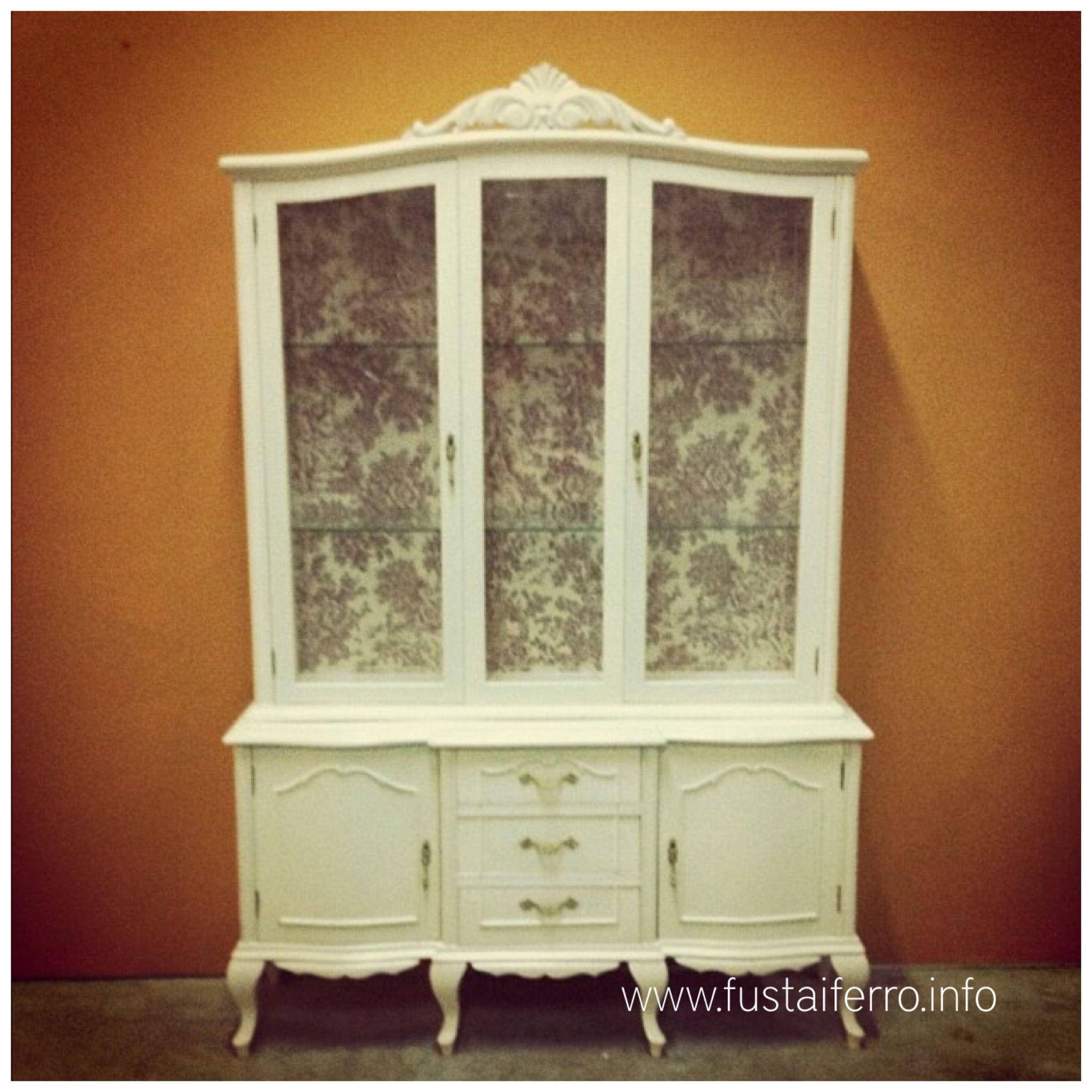 Vitrina restaurada pinterest - Restaurar muebles vintage ...
