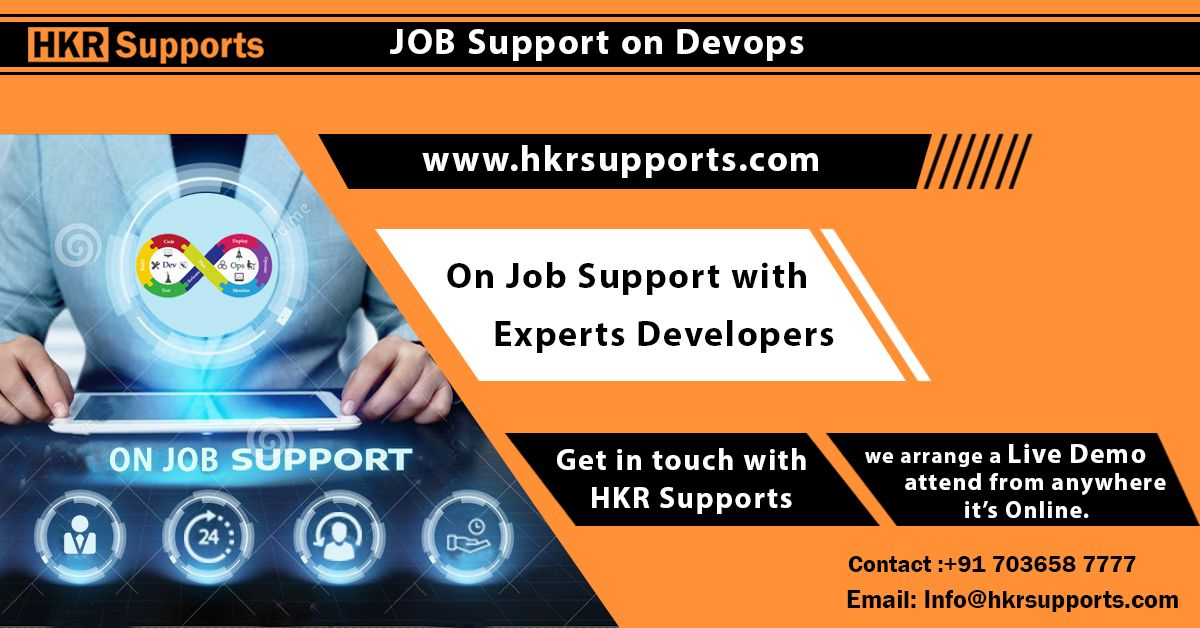 HKR Supports offering On Job Support for DevOps and all IT