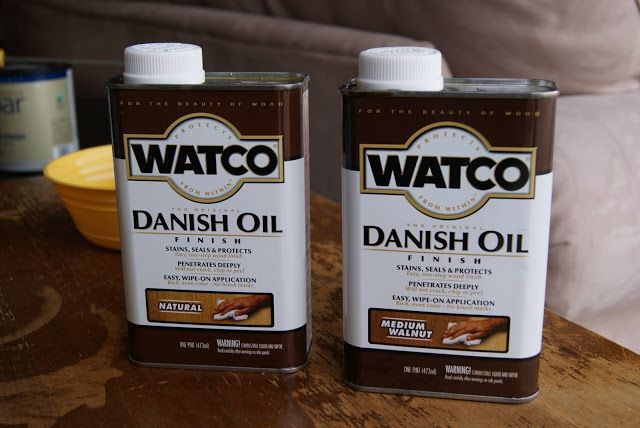 An Introduction To Danish Oil Versus Normal Stain Danish Oil