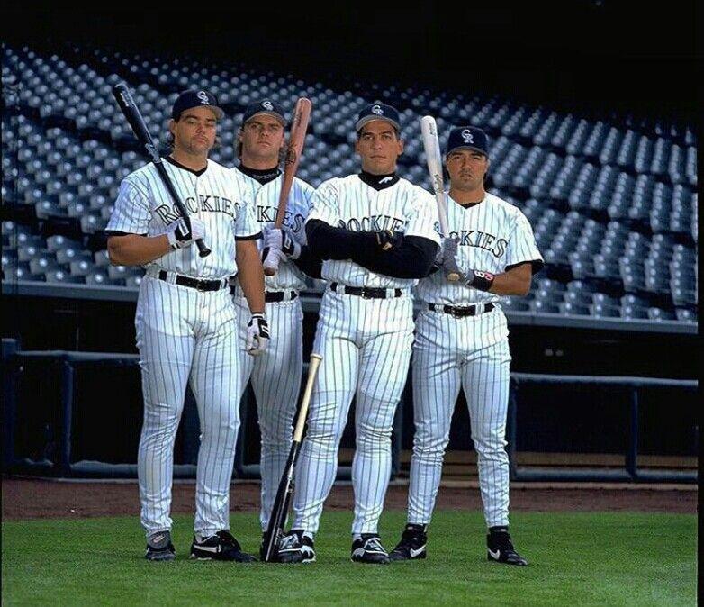 Blake Street Bombers Castilla Bichette Walker And Galarraga Colorado Rockies Baseball American Sports Rockies Baseball