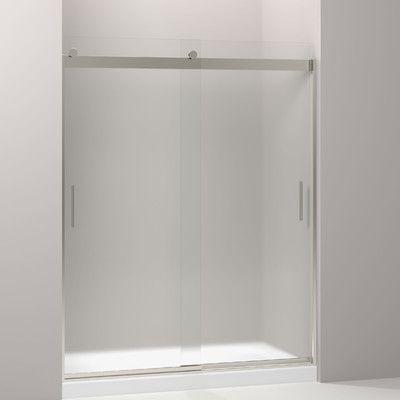 Kohler Levity 74 X 59 63 Sliding Shower Door Reviews Wayfair