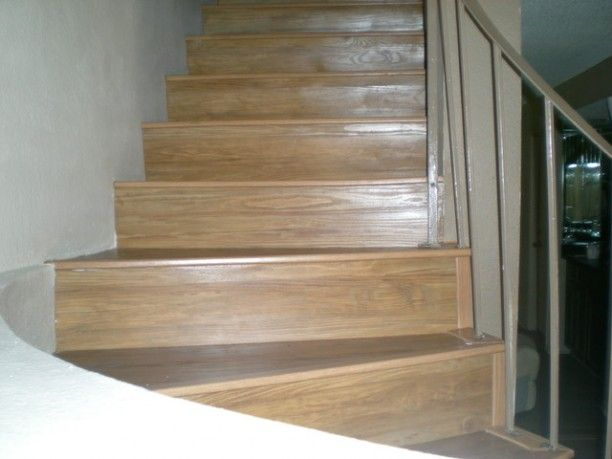 How To Choose The Best Flooring For Stairs ~ Http://modtopiastudio.com