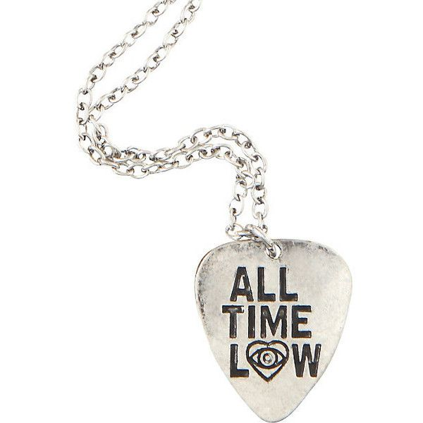 All time low metal pick necklace hot topic 13 liked on all time low metal pick necklace hot topic 13 liked on polyvore featuring mozeypictures Gallery