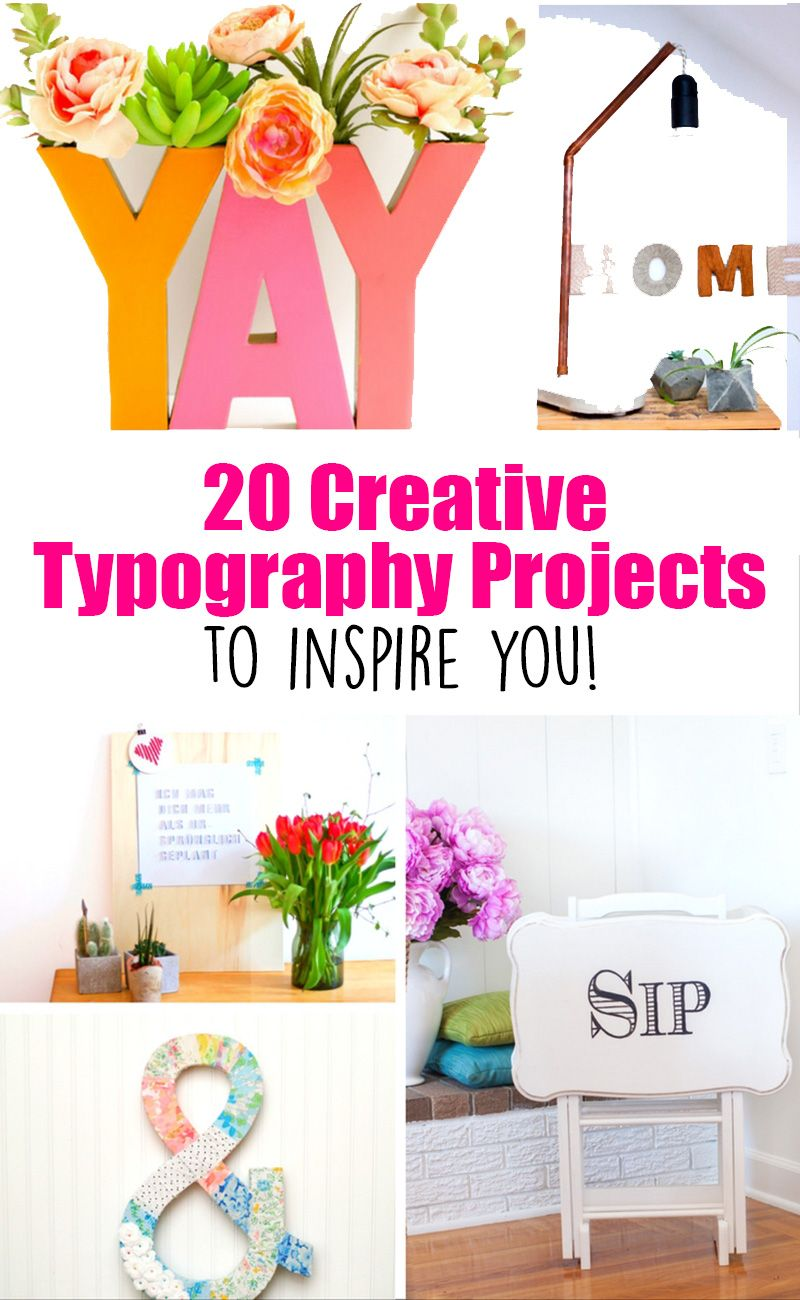 20 Typography Projects to Inspire your Creativity! | Creative ...