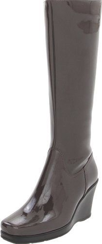 La Canadienne Women's Iza Knee-High Boot La Canadienne. $284.95. Made in Canada. Traction thermoplastic rubber wedge unit sole. Waterproof Italian patent upper. Manmade sole. Soft, antibacterial, wicking technical microfiber lining. 3mm memory foam insole for comfort. Made in Canada with the highest quality Italian components. synthetic