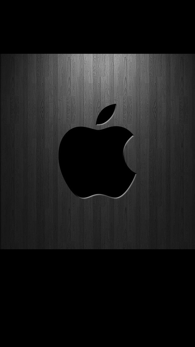 Wallpapers For Iphone 5 Apple 166 640 1136 Apple Iphone Wallpaper Hd Black Apple Logo Apple Logo