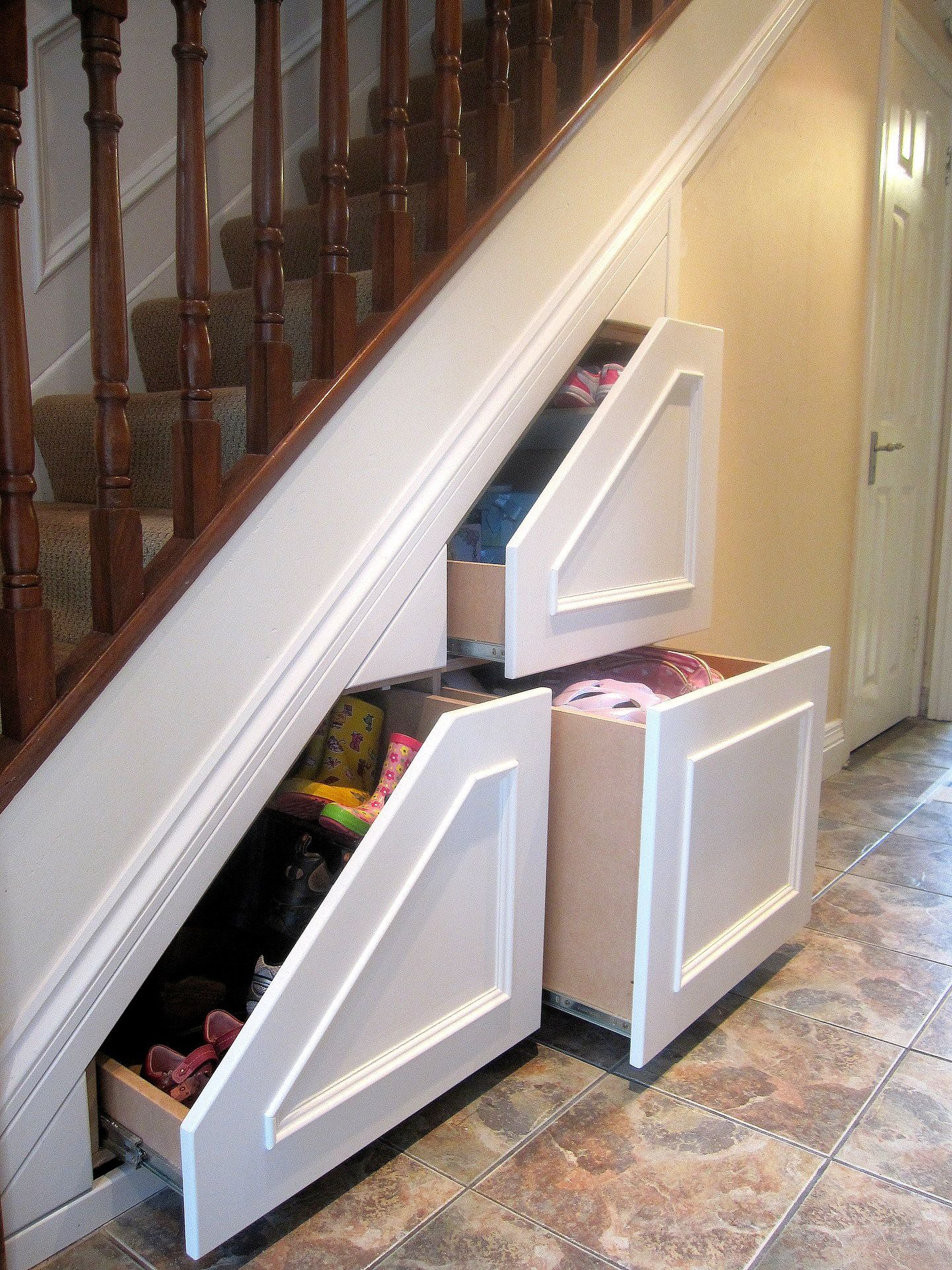 Clever Under Staircase Storage