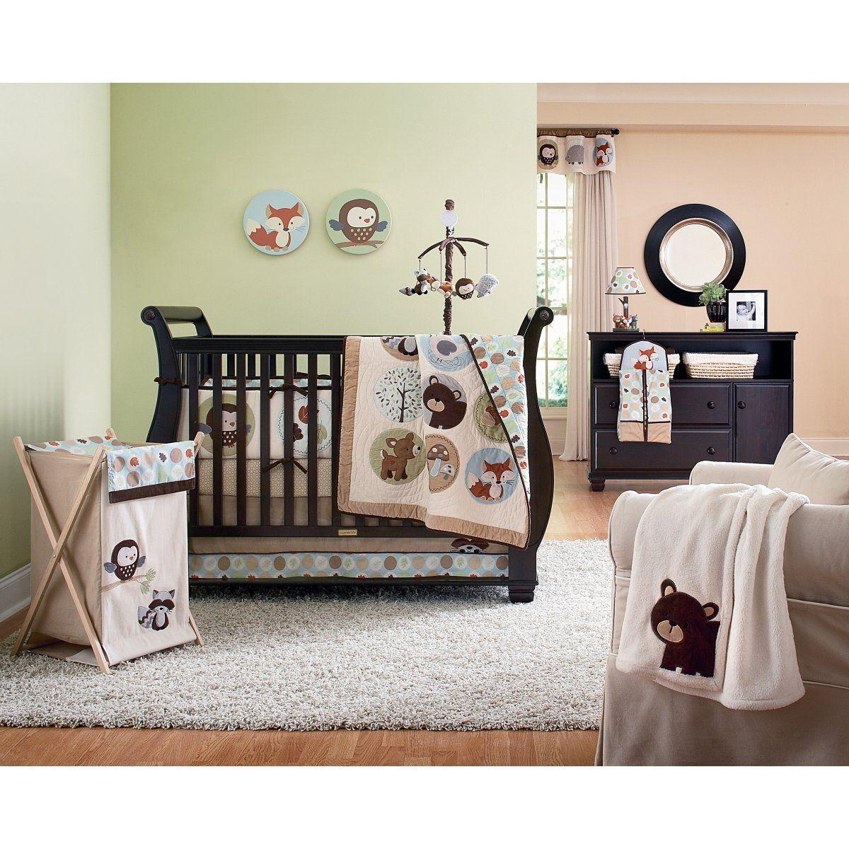 Forest Friends 4 Piece Crib Set