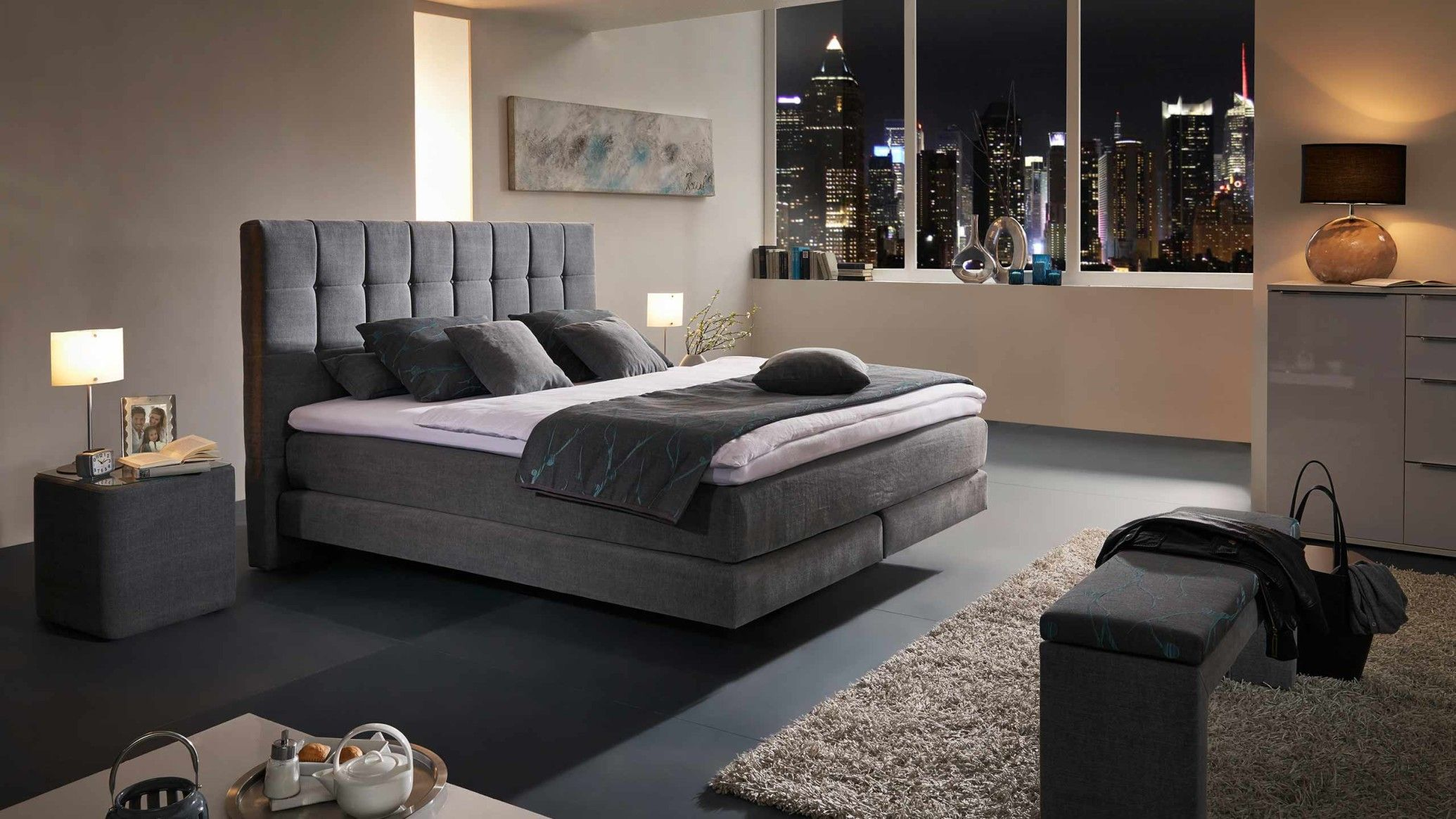 comfortmaster - boxspringbett >>collection<< | bedroom inspiration, Schlafzimmer entwurf