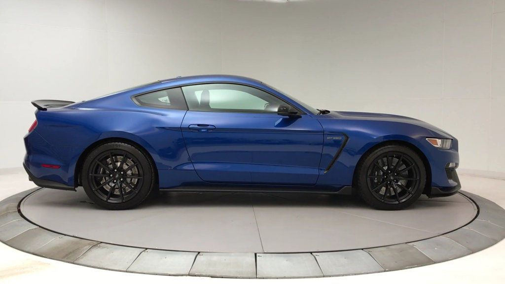 Used 2017 Ford Mustang Shelby Gt350 Fastback Helby Gt350 Fastback Low Miles 2 Dr Coupe Gasoline 5 2l 8 Cyl Lightning Blue Me 2018 2019 2017 Ford Mustang Mustang Shelby Ford Mustang Shelby