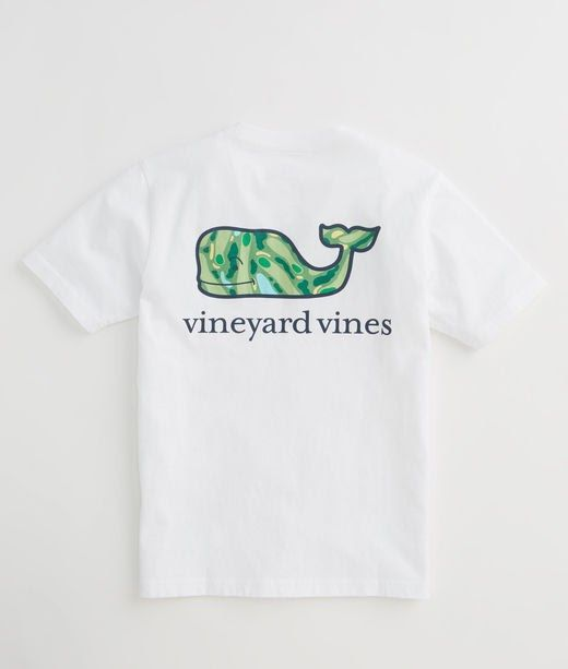d4279466 Shop Boys Short-Sleeve Golf Map Whale Pocket T-Shirt at vineyard vines