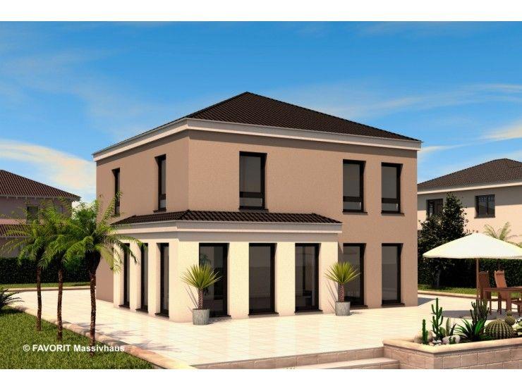 Massivhaus Mediterran ambiente 141 einfamilienhaus bau braune inh sven lehner