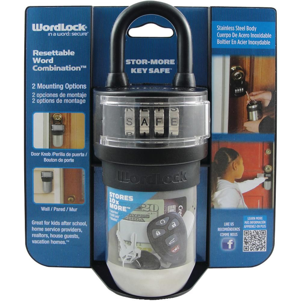 WordLock StorMore Key SafeKS052BK Key safe, Key