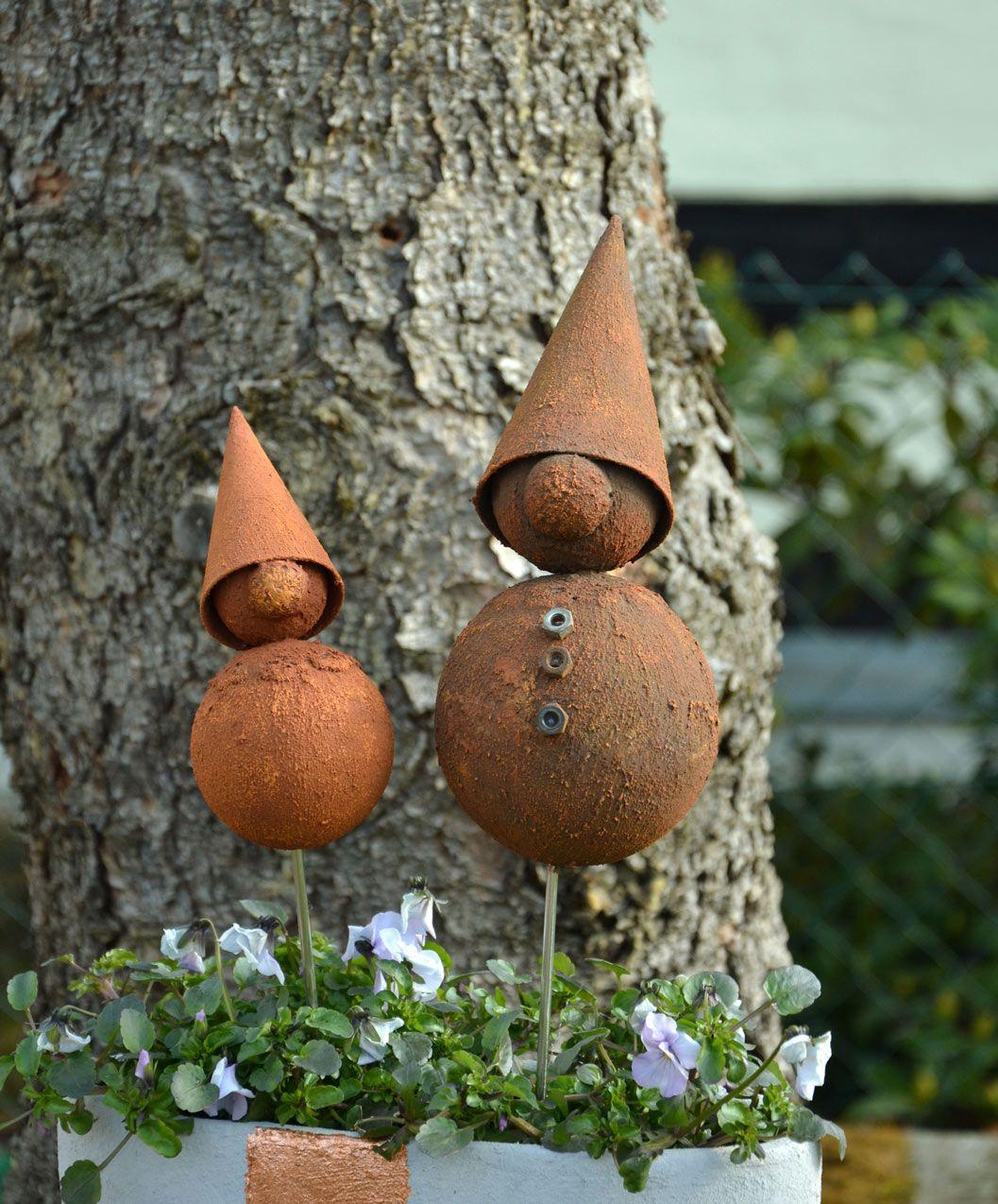 Rost wichtel idee mit anleitung klick auf besuchen for Gartendeko rost herz