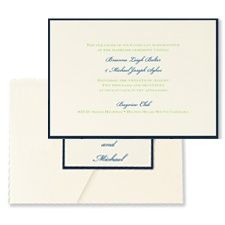 Classico - Layered Pocket Invitation