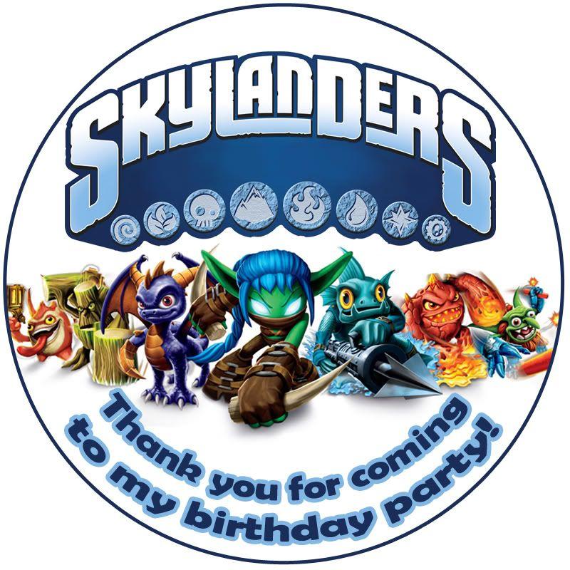 Skylander Birthday Party Ideas