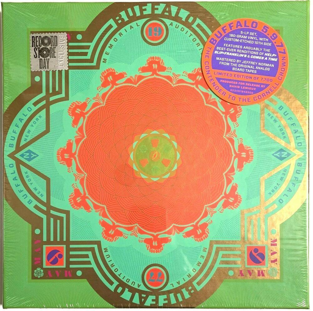 The Grateful Dead Buffalo 5 9 77 5lp Box Set Rsd 2020 Lp Vinyl Record Album Ebay In 2020 Vinyl Records Vinyl Record Album Lp Vinyl